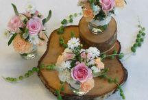 Décoration mariage - centre de table / Centres de table pour mariage tout en légèreté et avec un thème bohème