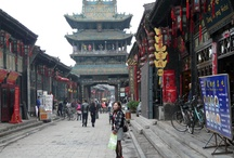 Pingyao, China / The little quaint village of Pingyao in China; where it seems time stood still the last hundred years.