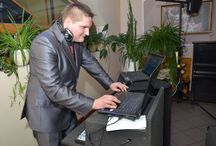Prezenterzy tychy dj na wesela / dje przy pracy :) dj witański i dj kuba Dj na wesele www.prezenterzy-tychy.pl