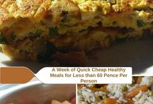 Cheap Eats Budget cooking / Cheap meals and desserts for your family.
