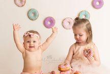 Doughnut Themed Photo Session