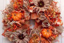 Wreaths/Door Decorations/Türkränze
