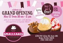 SmallCakes / Ocala Wedding & Events Expo 2016 Partner. / 13 flavors of gourmet cupcakes baked fresh daily plus specials for every day of the week. (352) 484-1127  4701 SW College Rd, # 106 Ocala, Floridahttps://www.facebook.com/smallcakesocala/timeline