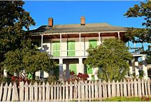 Mid City Neighborhood, New Orleans / Homes, Bayous and Flora.....