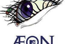 Cartoon Character - Aeon Flux
