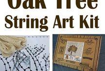idee string art