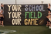 Football banners!
