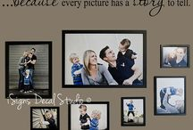 New home: Family Picture Wall