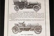 Cornish-Friedberg Motor Car Co. Ads / In late 1907, the Cornish-Friedberg Motor Car Company put its C. F.model    into production for the 1908 season. For all practical purpose it was one of the many generic automobiles that were being built during this time. It was a five passenger touring model with a four-cyclinde, four-cycle, water-cooled motor that produced 35 horsepower, The selective transmission was a three-speed and reverse with sliding gears. 114-inch wheelbase. 32 X 4-inch tires, weight 2400 lbs and priced at $2,250.
