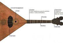 Instrumentos Musicais / Instrumentos Músicais de diiversas partes do mundo