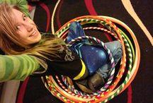 Hula Hoops / Hula Hoops Hand Made by Sunshine N' Lemons. Available on Etsy.  Sunshine N' Lemons