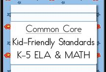 Math - Common Core  / Common Core Math Board - Mostly for First Grade
