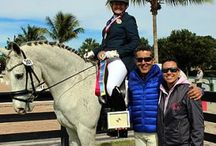 Dressage News About Dr. Cesar Parra & Piaffe Performance / Dr. Cesar Parra and his training facility, Piaffe Performance, are regularly covered in the news for the top performing students.