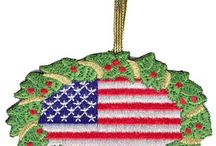 Air Force Christmas Gifts Ornaments Stockings / Air Force Christmas Ornaments, Gifts, Decorating and Design Ideas.  More choices at http://www.priorservice.com/air-force-christmas.html / by PriorService.com