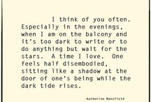 Katherine Mansfield and other Literary Ladies