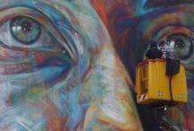 Street Art à Nancy / Le Street Art (aussi appelé l'Art Urbain) investit les rues de Nancy. Des artistes internationaux et locaux ont réalisé des oeuvres que vous pourrez découvrir lors de vos balades en ville.