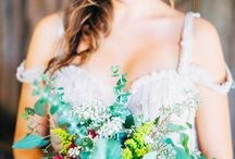 Bohemian Brides / We love the boho look. Whether you go full-out or just want a touch of the relaxed vibe, we're here to help you find some inspiration!