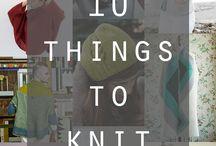 Sheila / Knitting