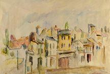 Lucian Grigorescu Peisaj din Bucuresti