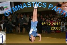 Gymnastics Show / 'Gymnastics Party' is a special gymnastics show, which aims to popularise physical activity and healthy living amongst children.