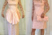 For life, refashioned wedding dresses / Turn an old wedding dress into something new en stylish. Refashion. Upcycle.