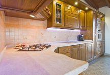Cucina Luisa / Bellissima e Molto Massiccia. top in vero biancone di orosei