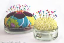 PIN CUSHIONS / by Debby Taylor