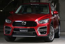CX-5 [KE facelift model] KENSTYLE BUMPER TYPE BODY KIT & STEERING / Bodykit for CX-5 facelift model.