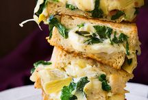 Food sandwiches