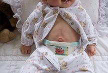 lachende baby-reborn pop
