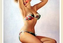 Pinups / Pretty gals from the past / by Vivaciouslady Vintage