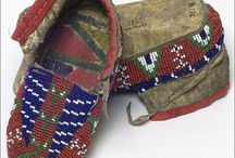 Beaded and quilled moccasins / by Angela Teboe