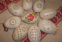 vajíčka / zdobení vajíček