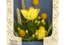 Easter Flowers and Chocolates