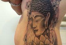 Tattoo budda