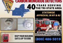 Carbon Monoxide Detectors in NJ / For more information or a free commercial carbon monoxide detection system estimate, contact T&R Alarm Systems Inc. at 1-800-486-5019.