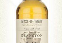 Deanston single malt scotch whisky / Deanston single malt scotch whisky