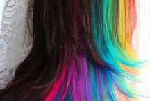 farger hår