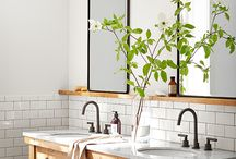 Modern Farmhouse Decorating / Dreaming about Modern Farmhouse decor- simple, clean, fresh, relaxing.