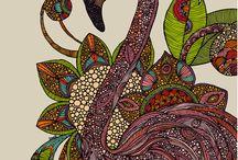 Valentina Harper / A2 textiles&fine art artist research