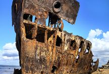 Shipwrecks / The world's ocean floor is littered with around 3 million shipwrecks according to the United Nations.