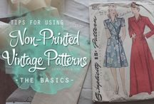 Sew Me! / Vintage Sewing patterns & Inspiration / by Natalie