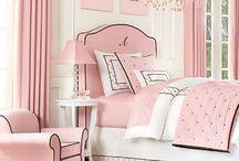 Decor Ideas; Glamorous Master Bedroom (Pink & White) / Interior design ideas; Master bedroom