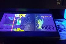 Kerennya Uang Baru Rupiah di Bawah Sinar UV