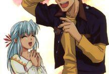 kazuma and yukina