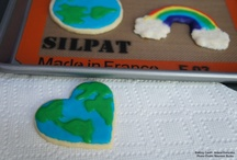 Earth Day Cookies / by Silpat
