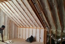 Closed Cell Spray Foam residential  Remodel
