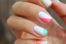 Nails Summer / Summer Nail Designs, Nail Art, and Colors For 2016 and 2017. Includes Tips On Acrylic, Opi, Gel, Shellac, And Styles For The Beach.  Simple  DIY Tutorials For Bright Nails With Glitter, Pink, and Blue.  Different Summer Nail Shapes Like Coffin, Almond, Short, Long, And French Tips.  Great Summer Nails Colors Like Orange, White, Coral, Green, And Ombre Nails For Wedding, Brides, And Bridesmaid.  Step By Step Tutorials For Classy Nail Ideas.