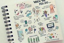 Passion Planner - Doodles