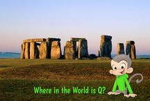 Where in the World is Q?!